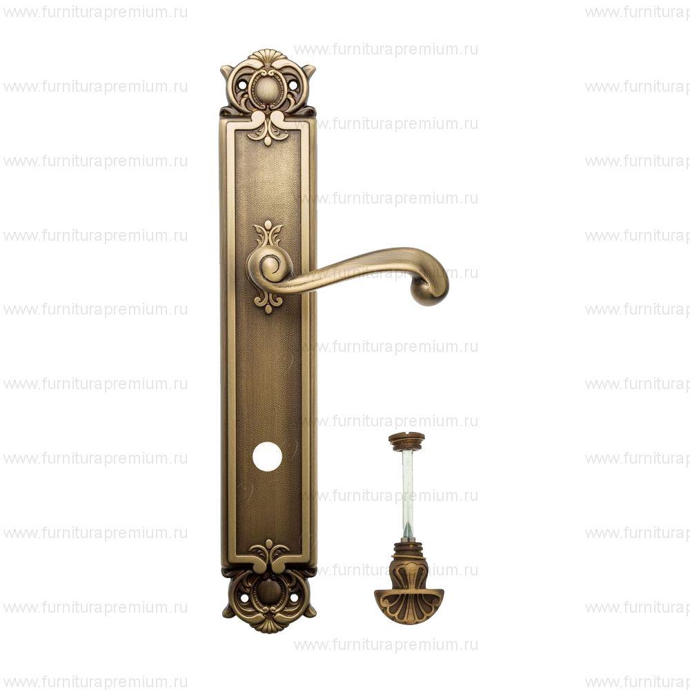 Ручка на планке Venezia Carnevale PL97 WC-4