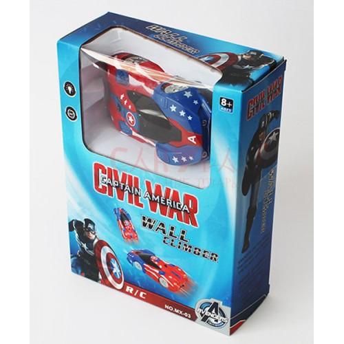 Антигравитационная машинка Капитан Америка Wall Climber