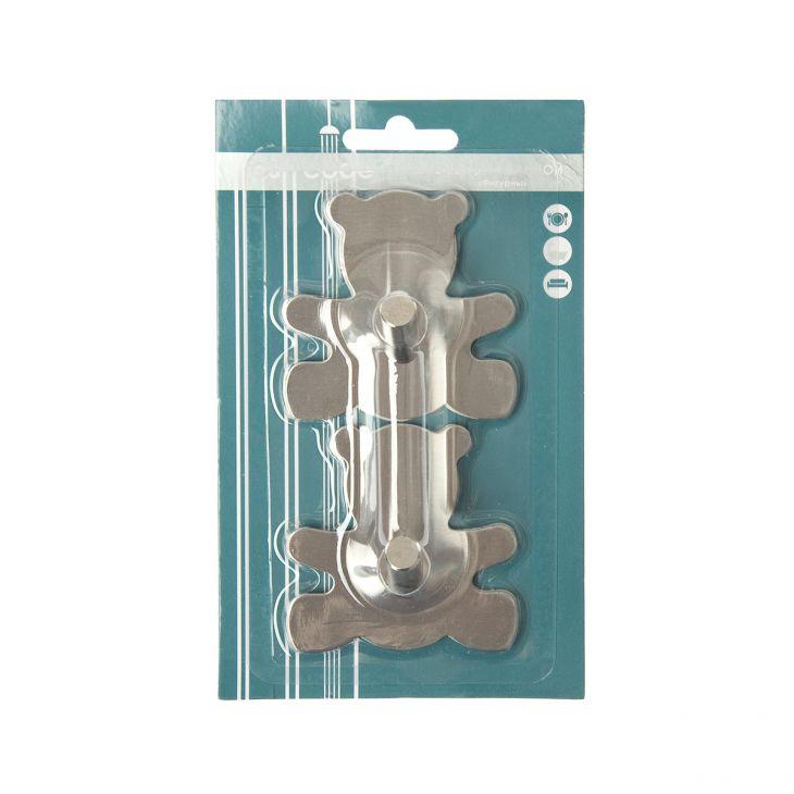 Крючок металлический на липкой основе 2 шт 70461