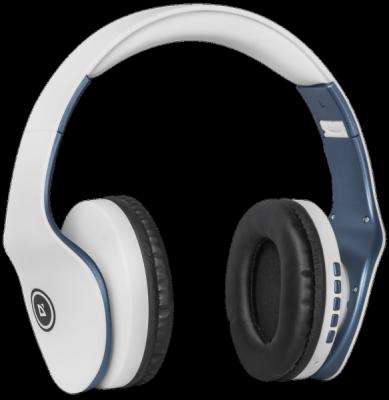 НОВИНКА. Беспроводная гарнитура FreeMotion B525 белый+синий, Bluetooth