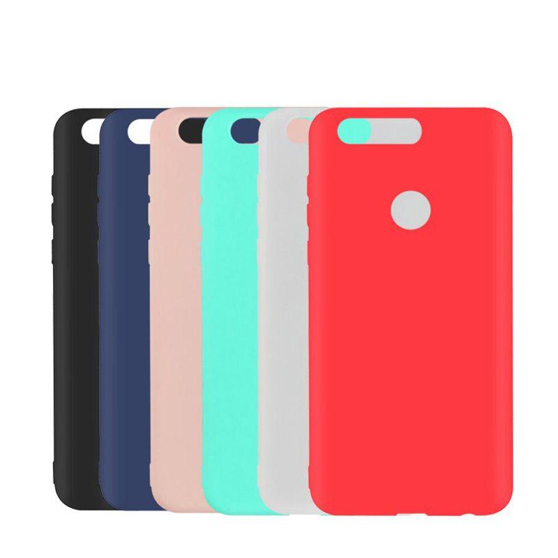 Цветной Силиконовый Чехол для смартфонов Huawei/Honor