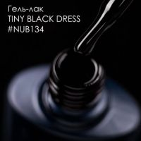 Гель-лак NUB 134 TINY BLACK DRESS, 8 мл