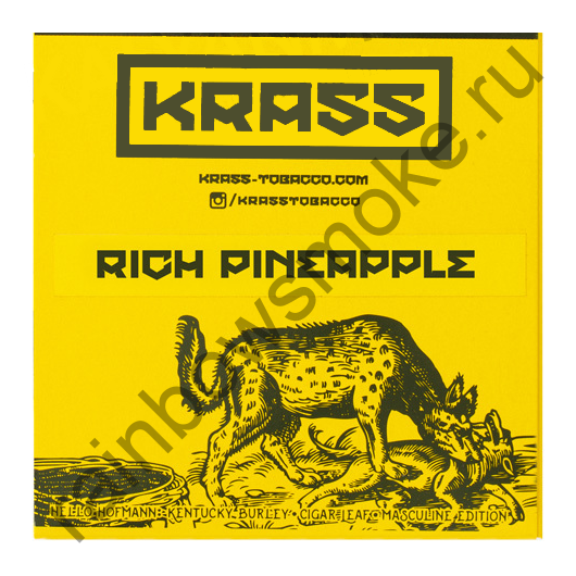 Krass M-Line 100 гр - Rich Pineapple (Ананас)