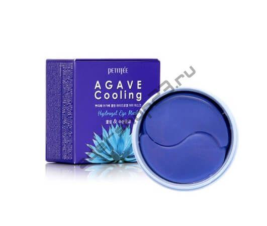PETITFEE - Охлаждающие гидрогелевые патчи с экстрактом агавы Agave Cooling Hydrogel Eye Mask
