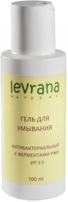Гель для умывания Антибактериальный с ферментами ржи MINI Levrana (Леврана) 100 мл