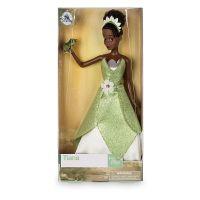 Кукла принцесса Тиана в зеленом платье Дисней