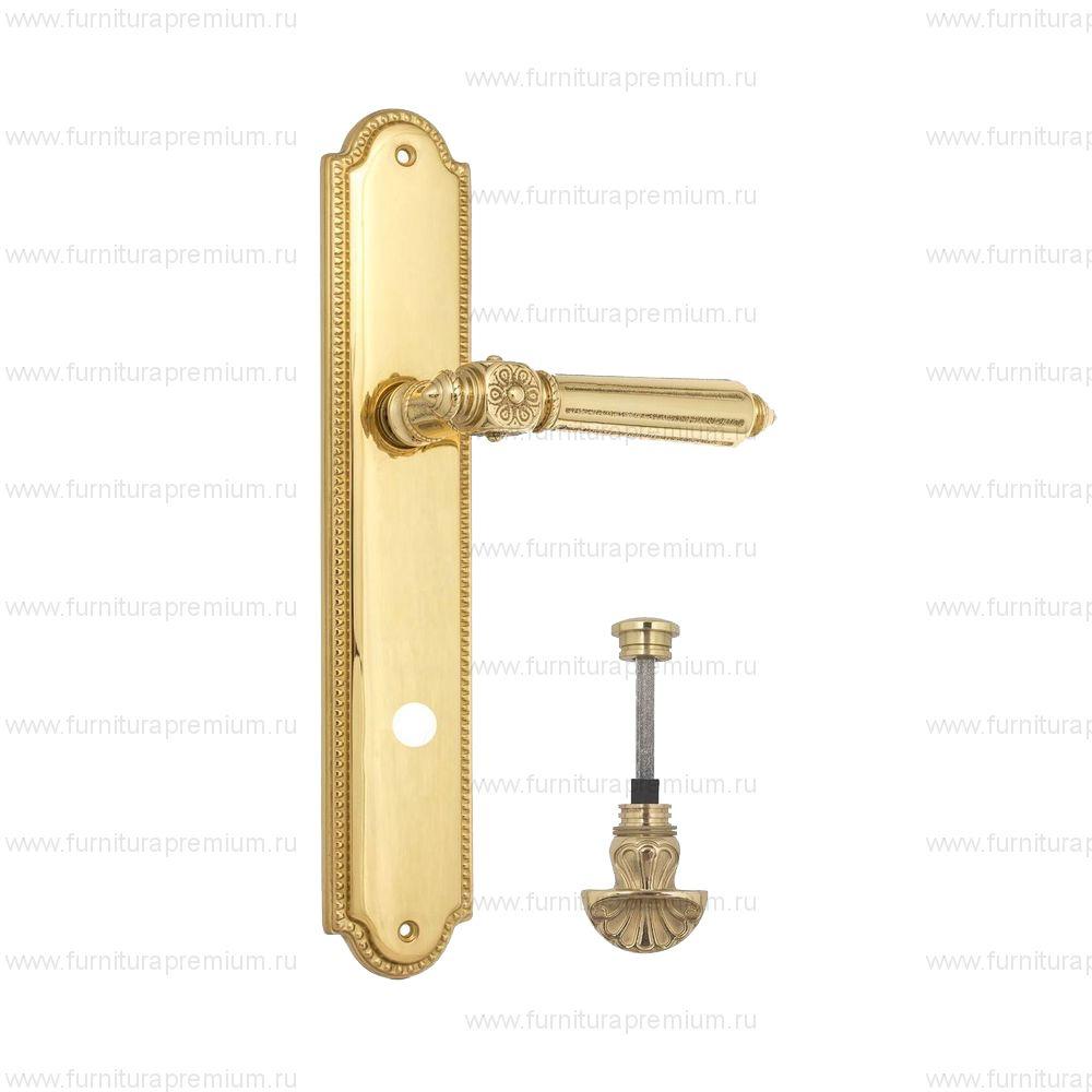 Ручка на планке Venezia Castello PL98 WC-4