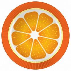 Тарелки Апельсин малые