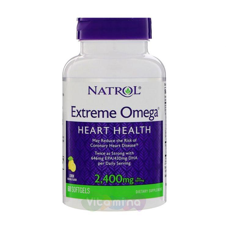 Natrol Extreme Omega 2400 мг (Экстрим Омега)
