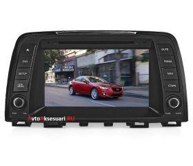 Штатная магнитола для Mazda 6 (2013+)