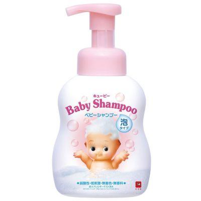 Cow Brand QP Детский шампунь-пенка для волос с первых дней жизни с ароматом детского мыла