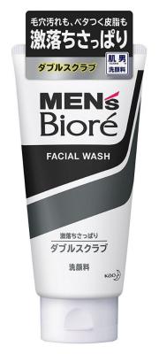 Пенка - скраб для умывания мужская Mens Biore 130 гр.