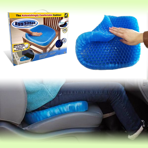 Гелевая подушка для сидения в авто Egg Sitter