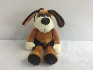 Мягкая игрушка Собака в шортах (18 см)