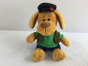 Собака в кепке, 15см