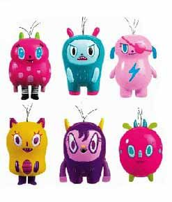 Интерактивные игрушки (разговаривают, при соединении хохолков)