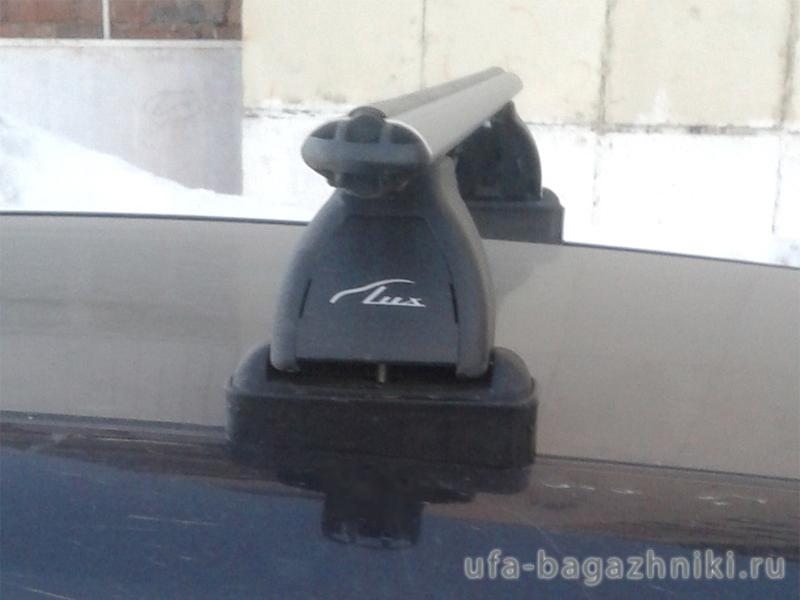 Багажник на крышу Peugeot 207, Lux, аэродинамические дуги (53 мм)