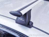 Багажник на крышу Peugeot 207, Lux, крыловидные дуги