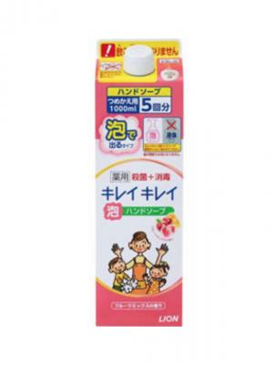 Lion Kirei Kirei Жидкое антибактериальное мыло-пенка для рук