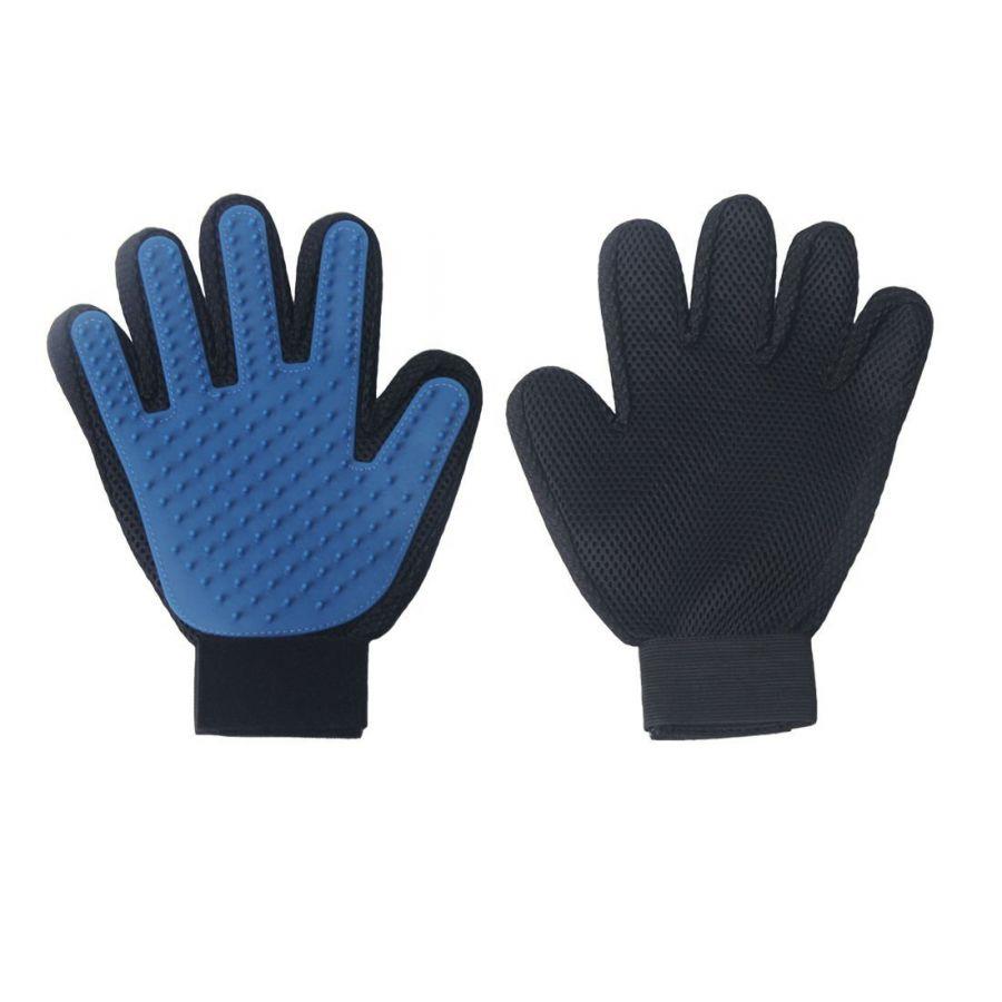 Перчатка для вычёсывания кошек и собак True Touch