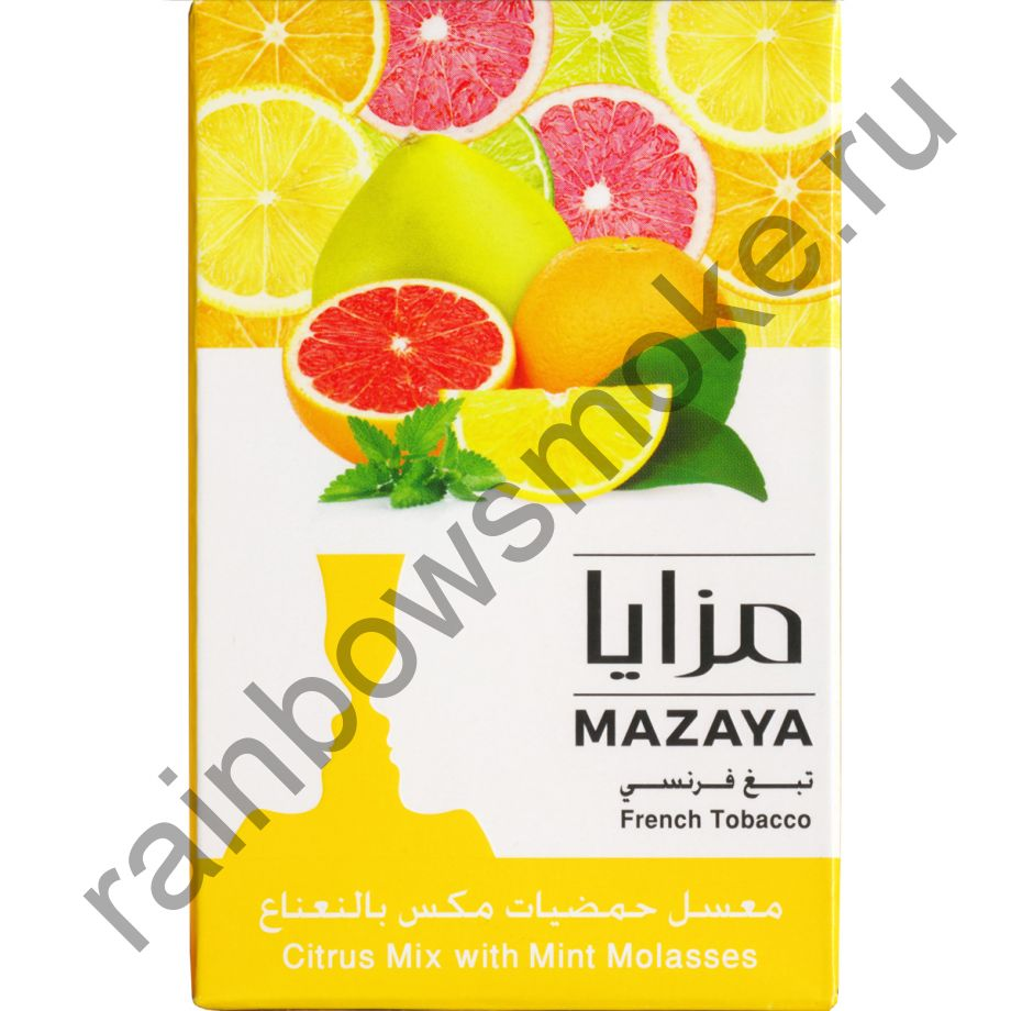 Mazaya 50 гр - Citrus Mix with Mint (Цитрусовый микс с Мятой)