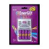 Зарядное устройство 3Q C46-24 Q-EnerGO! Rechargeable 4 x AAA 2400Ah+ charger-46