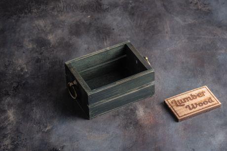 """Коробочка для картофеля фри и хлеба. """"Оld Нotel"""". арт. 1228"""