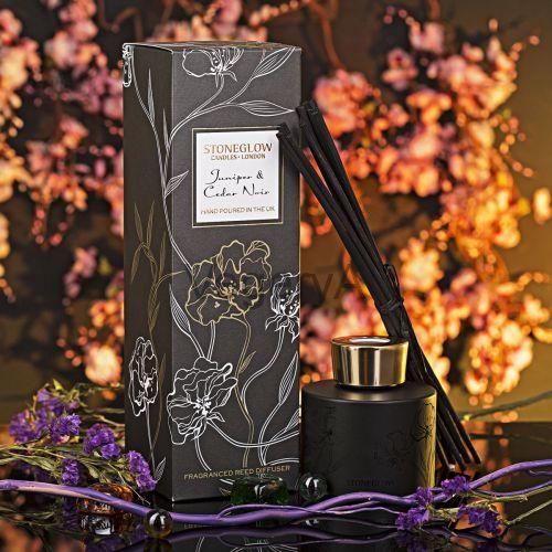 Диффузор Можжевельник и чёрный кедр StoneGlow Ночные цветы