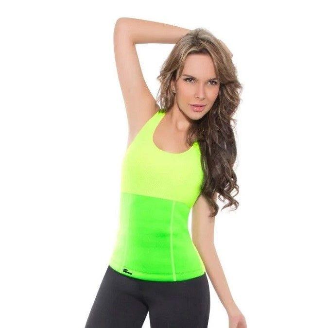 Майка для похудения Hot Shapers (Хот Шейперс), цвет зеленый, M