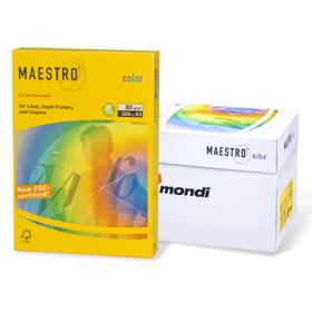 """Бумага для печати """"Maestro Color Intensive"""", ярко-зеленая, А3, 80 г/кв.м, 500 л. (арт. МА42)"""