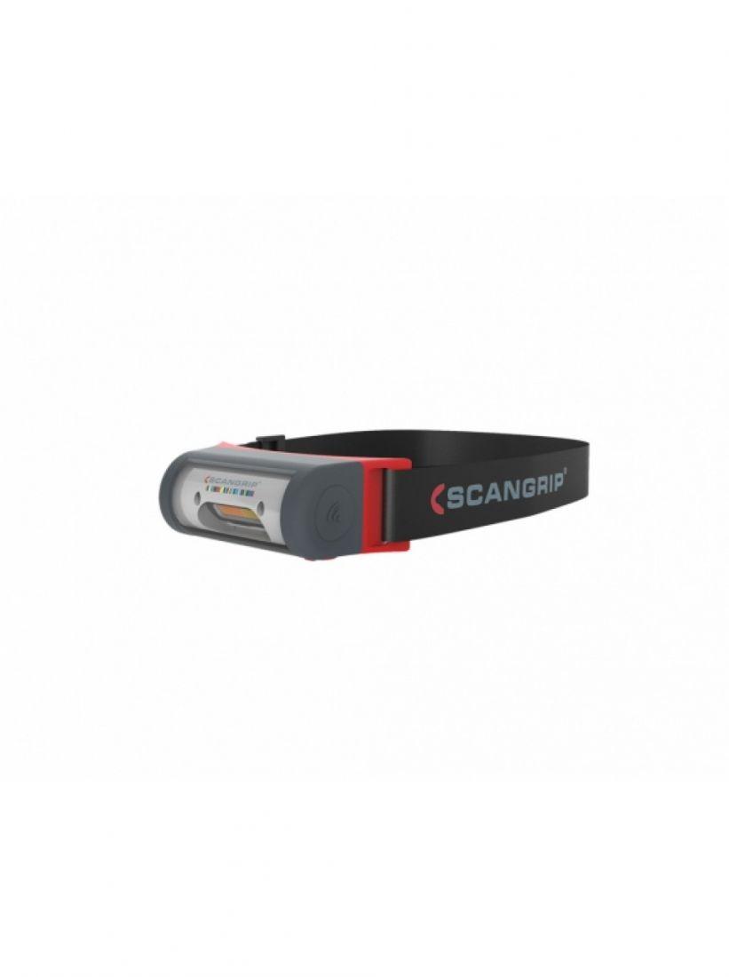 Scangrip I-MATCH 2 - компактный светодиодный налобный фонарик с ремешком для крепления на голове