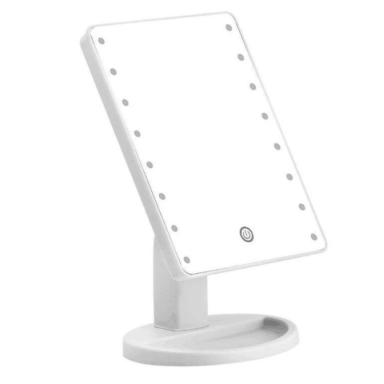Зеркало Large LED Mirror, цвет белый