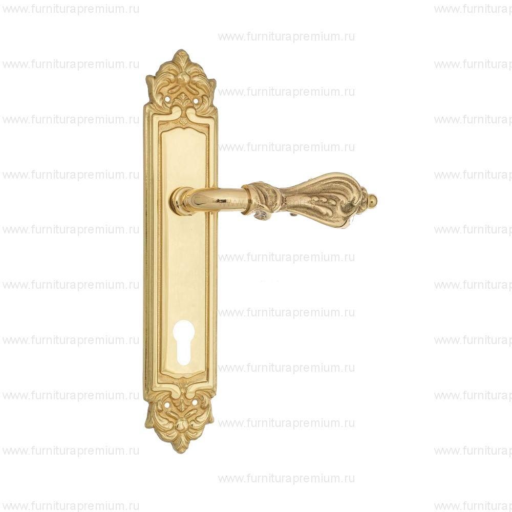 Ручка на планке Venezia Florence PL96 CYL