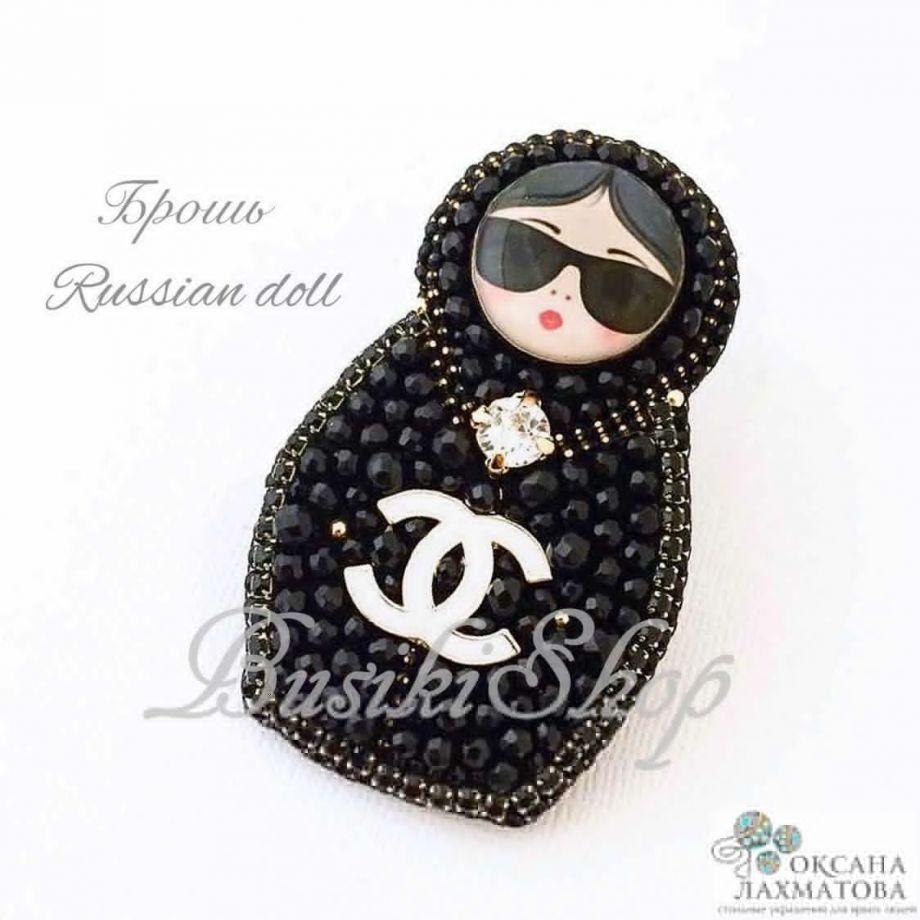 "Брошь ""Russian doll"""