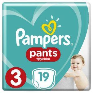 Трусики Pampers Premium Care Pants 6-11кг 3 размер 19шт