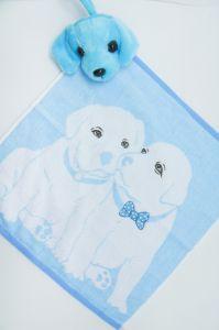 Полотенце детское хлопковое с рисунком (35*35) арт.   203515