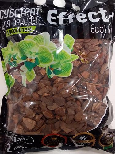 Cубстрат для орхидей с цеолитом Effect+ 13-19 мм EcoLine, 2л
