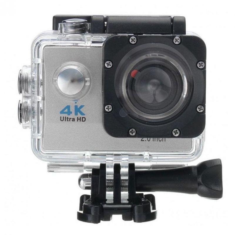 Экшн-камера 4K SPORTS ULTRA HD DV, цвет серебристый