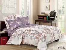 Комплект постельного белья Сатин SL 1.5 спальный Арт.15/316-SL