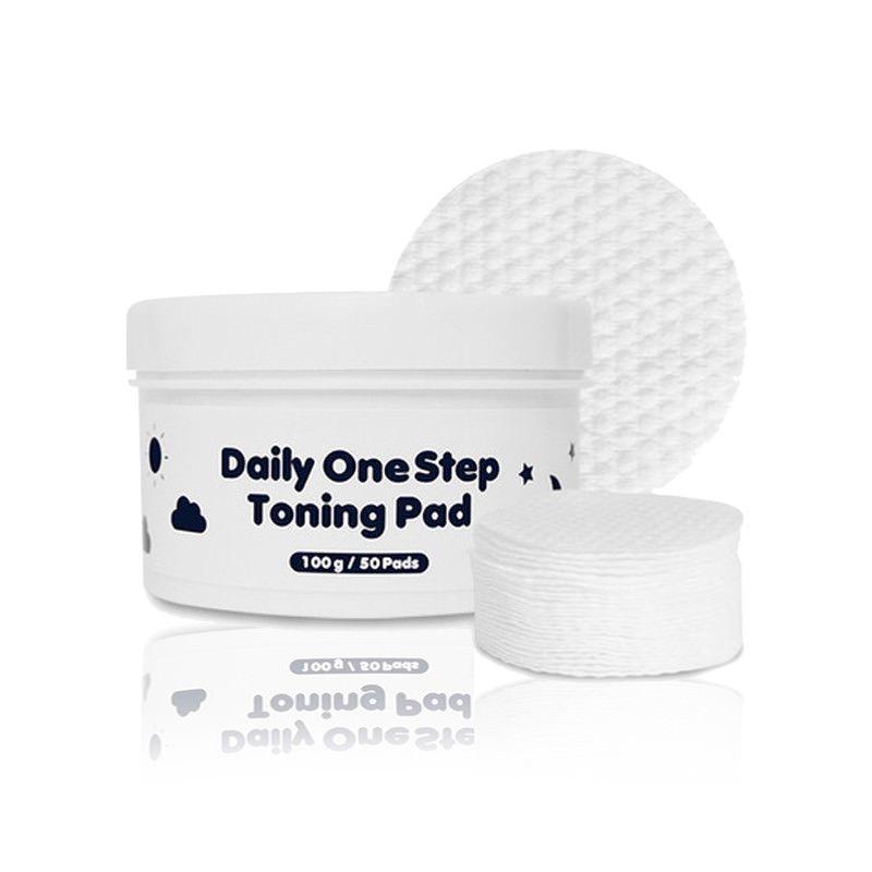 [PRRETI] Подушечки косметические/пропитанные тоником Daily Onestep Toning Pads, 50 шт