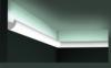 Карниз для Скрытого Освещения Гибкий Orac Decor CX188F Д200xШ3xВ3.4 см Лепнина из Дюрополимера / Орак Декор