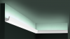 Карниз для Скрытого Освещения Гибкий Orac Decor CX189F Д200xШ2.7xВ2.7 см Лепнина из Дюрополимера / Орак Декор