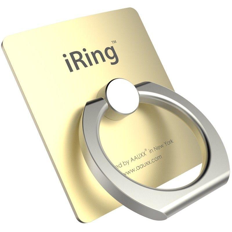 Универсальный держатель для смартфона iRING, золотистый