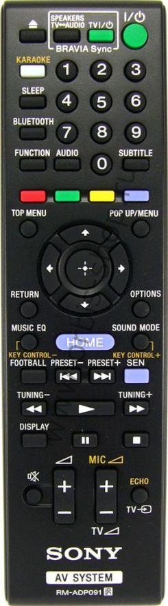 Пульт для домашнего кинотеатра Sony RM-ADP091