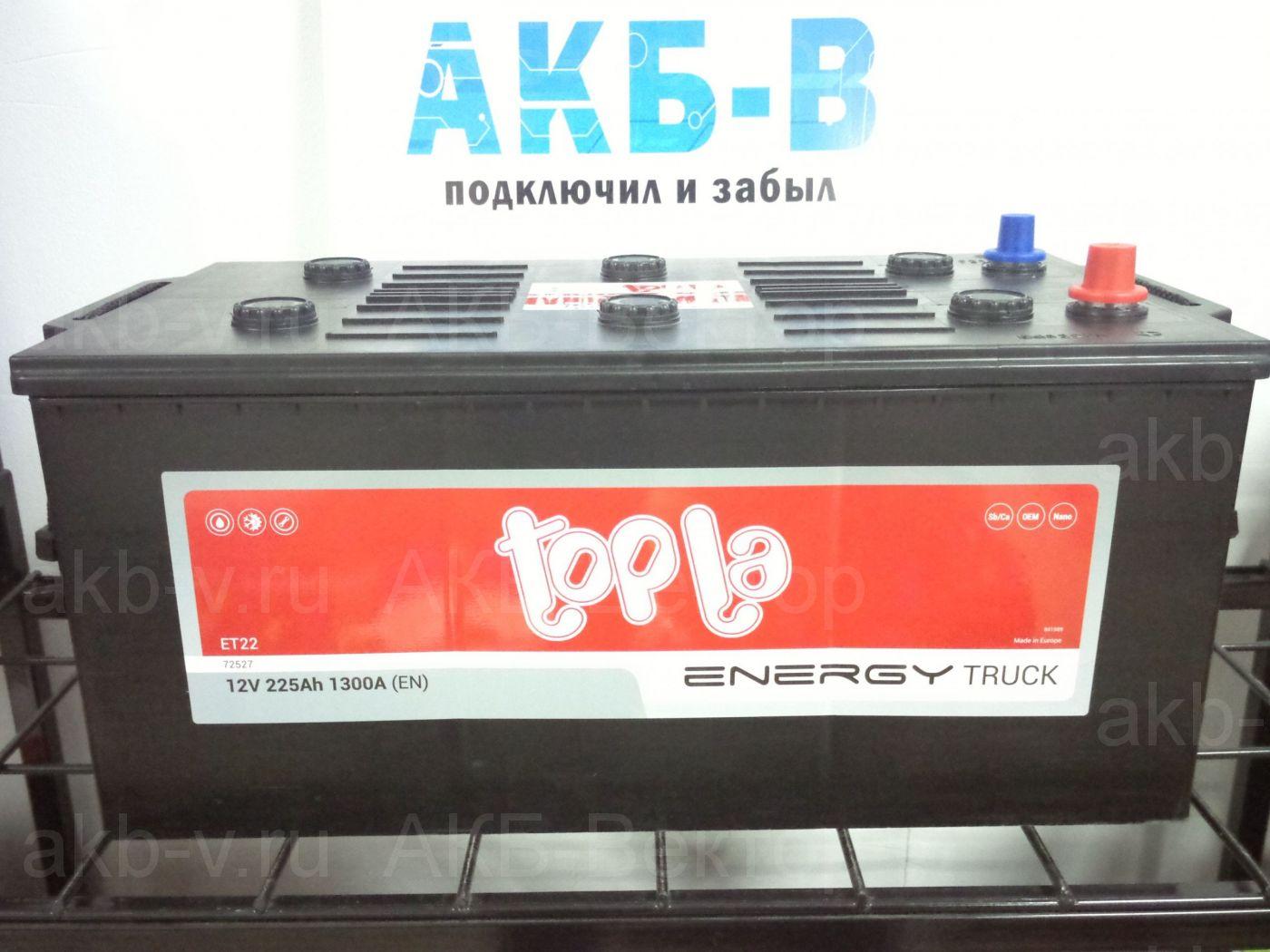 АКБ Topla Energy 150Ач 1000А(EN) (65048) 2021г