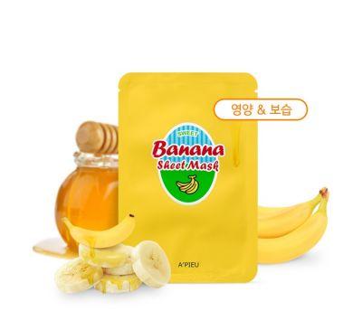 Маска для лица тканевая  A'PIEU Banana & Honey Sheet Mask
