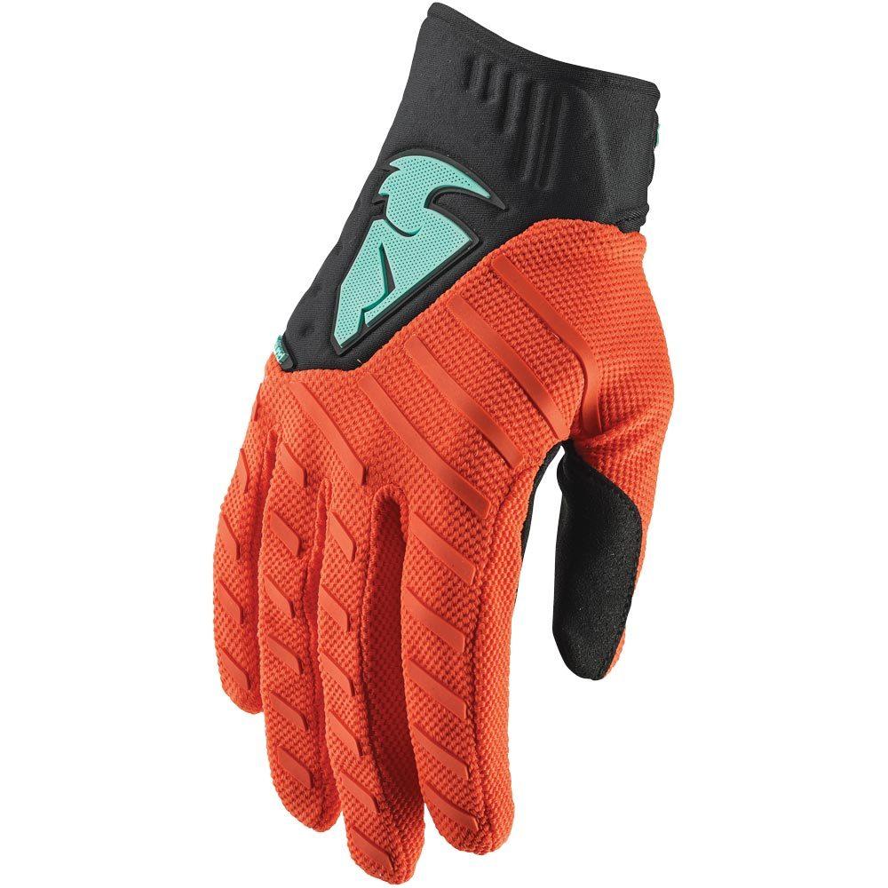 Thor - Rebound Orange/Black перчатки, оранжево-черные