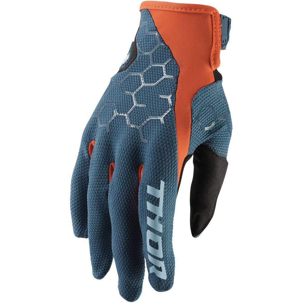 Thor - Draft Slate/Orange перчатки, оранжево-синие