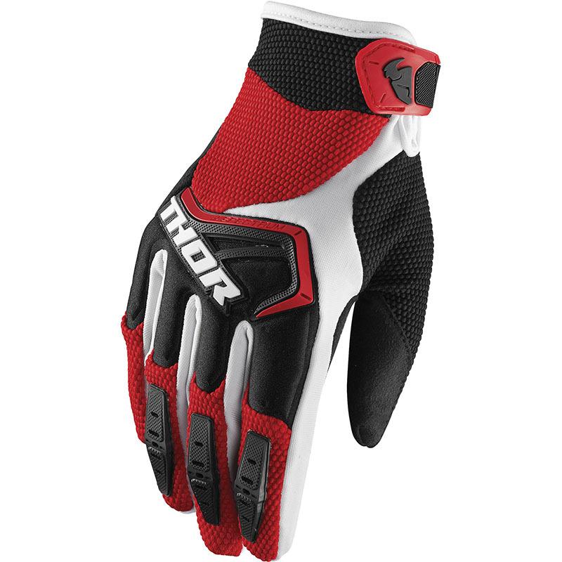 Thor - Spectrum Red/Black перчатки, красно-черные