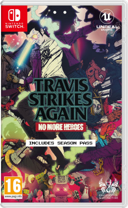 Игра Travis Strikes Again: No More Heroes (Nintendo Switch)